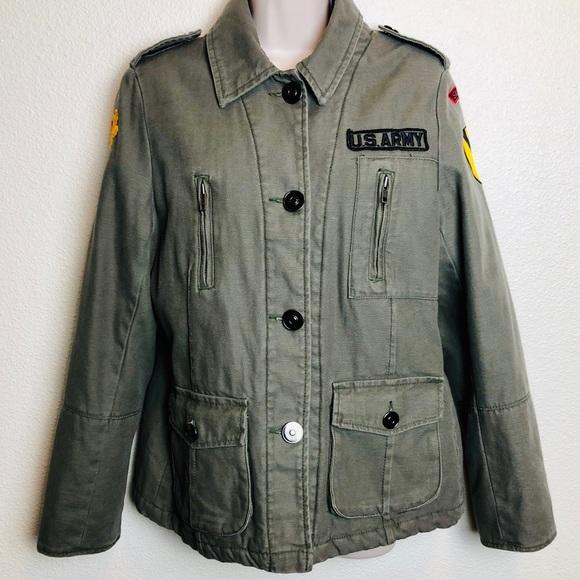 bd71c40d6 Vintage Rothco Army Sniper Jacket Grey/ Green Med